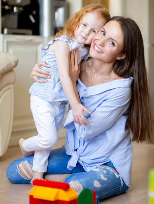 Nanny Placement Services in Metro Detroit - Nanny Job Openings - happy_hug