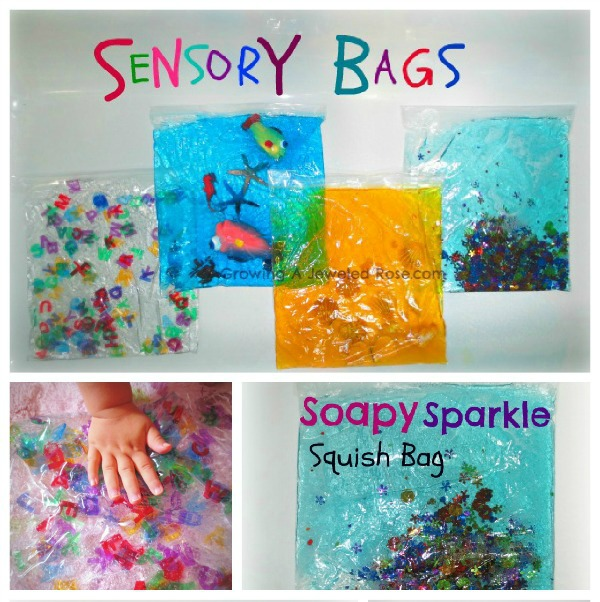 100 Things You Can Buy From the Dollar Tree and Use in Play - Perfect Nanny Match - sensory_bags_play_33